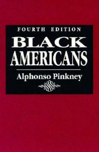 Black Americans by Pinkney, Alphonso