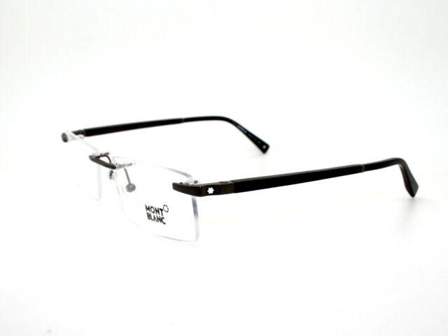 Authentic Montblanc Men Glasses Optical Gold Frames Eyeglass MB0390 ...