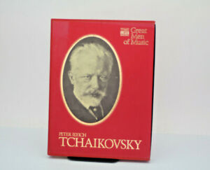 Time life  Great Men Of Music Peter Ilyich Tchaikovsky 4 Cassette Tape Set