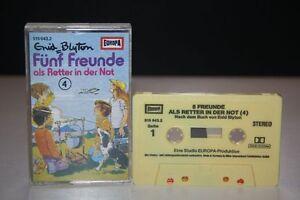 FUNF-FREUNDE-4-Enid-Blyton-MC-Kassette-EUROPA