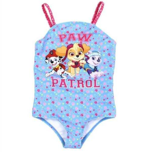 Paw Patrol Blue and Pink Swimsuit  2T 3T 4T Nick Jr
