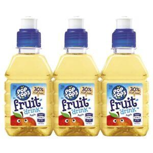 Pop Tops Apple Fruit Drink Multipack 250mL 6 pack