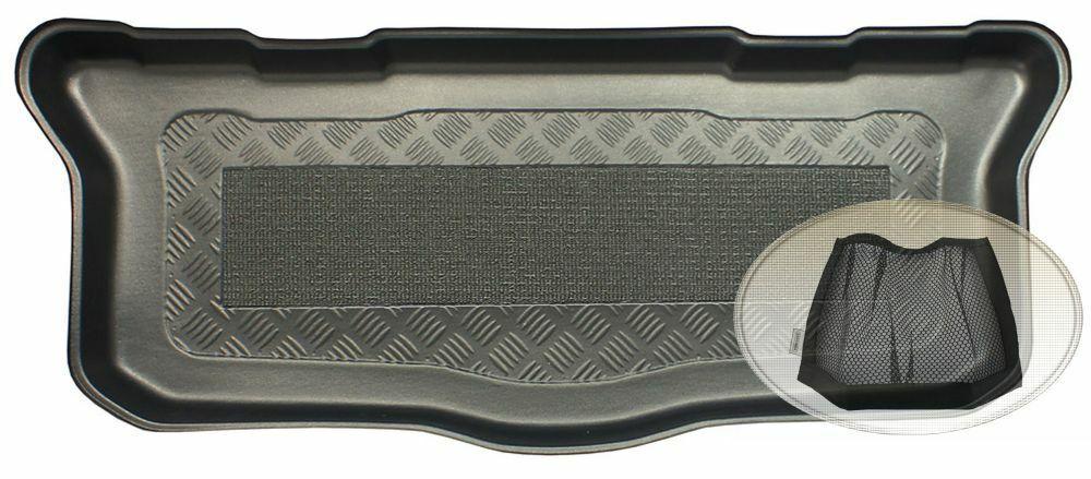 Gummierte Kofferraumwanne für Citroen Jumpy 2 Vor-Facelift 2007-2012 Langversion