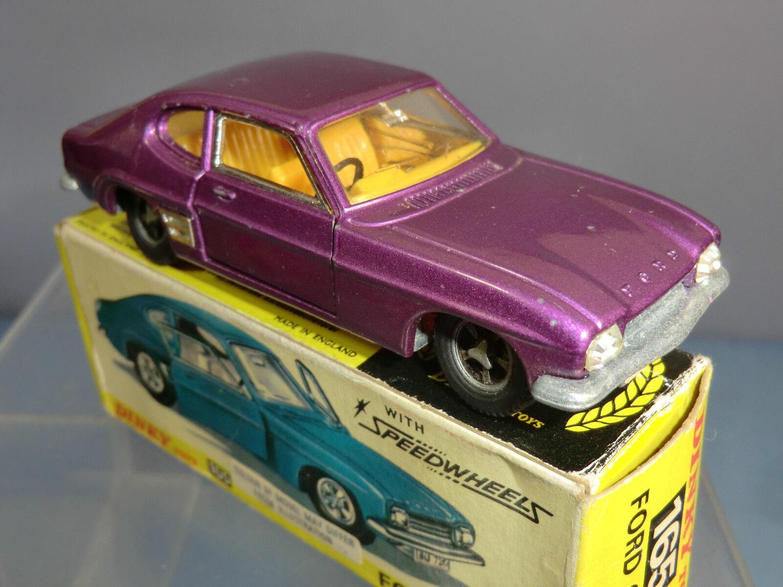 DINKY TOYS MODEL No.165        FORD CAPRI SALOON CAR    VN MIB