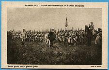 CPA: Revue passée par le général Joffre / Guerre 14-18