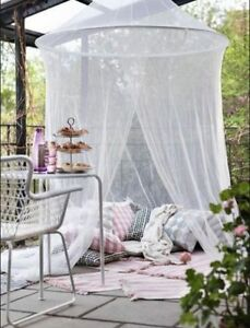 Image is loading IKEA-SOLIG-Net-Bed-Indoor-Outdoor-Canopy-Fly- & IKEA SOLIG Net Bed Indoor Outdoor Canopy Fly Mosquito Flying ...