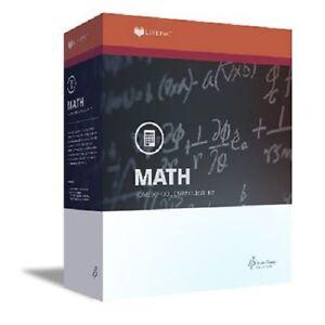 Details about Alpha Omega Lifepac Math Complete 9th Grade Homeschool Set  (Algebra 1) NEW!