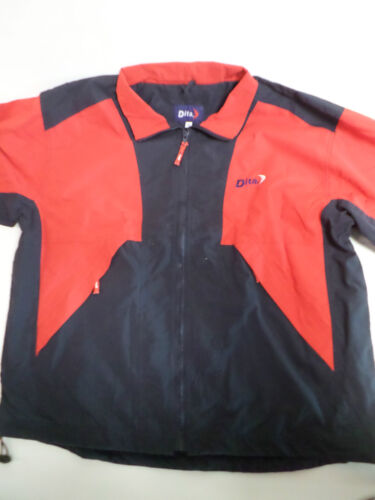 Dita Large Rainproof Tracksuit Jacket Top Mesh Lined Zip Up Exercise #23L89
