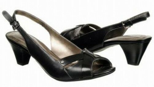Naturalizer Furnen pumps black leather sz 8 Md NEW