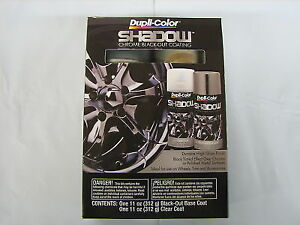 Details About Shd1000 Dupli Color Black Shadow Chrome Coating Spray
