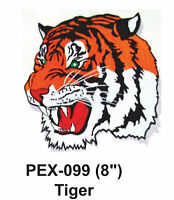 Tiger Embroidered Animal Patch (8)