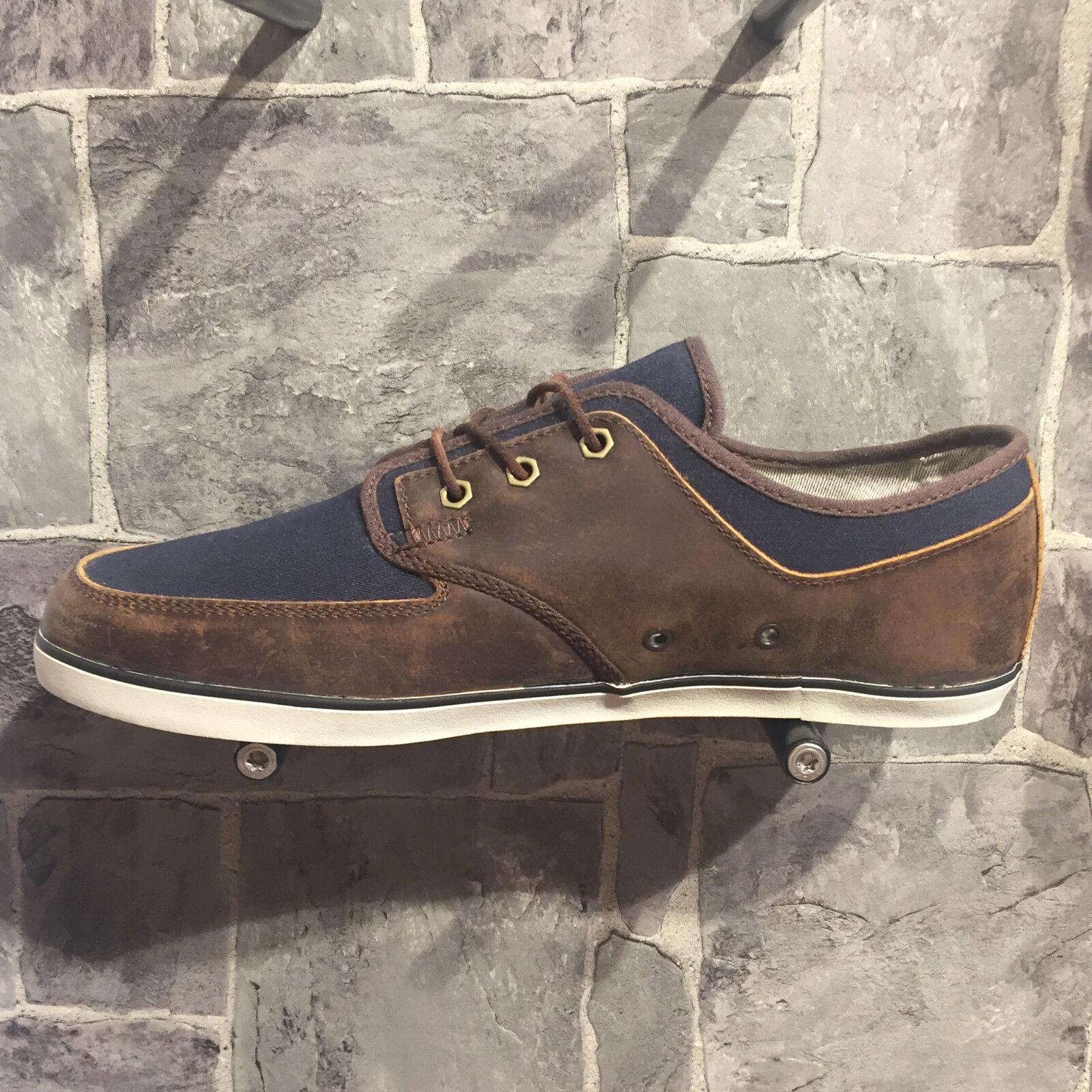 ELEMENT Whitley Schuhe Sneaker Schnürer brown/navy EWHTL-1023128