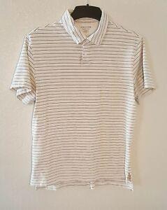 "RN White Short Sleeve Button Shirt 41//43"" Collar"
