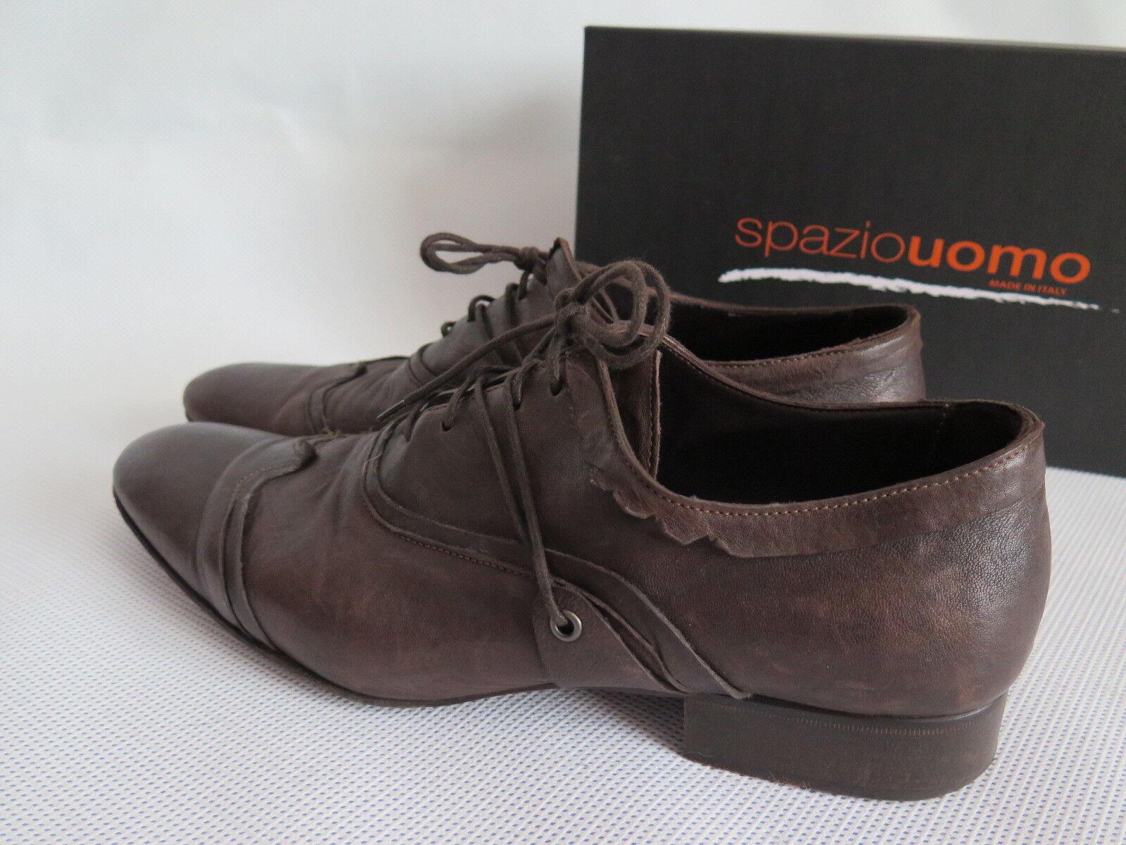 SPAZIO herren Shetland Men's Leather Lace Lace Lace Up schuhe Brogues UK 12 - EU 46 166c79