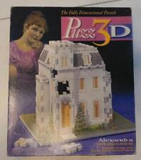 ALEXANDRA VICTORIAN HOUSE 215 PC EASY TO ASSEMBLE PUZZ 3D JIGSAW PUZZLE 1995