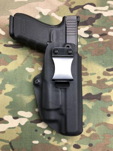 Black Kydex IWB Holster for Glock 40 RMR Cut Streamlight TLR-1 TLR-1HL