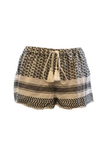 da 24 Pantaloncini Rrp in spiaggia cotone monocromo £ Topshop vwqUFdw