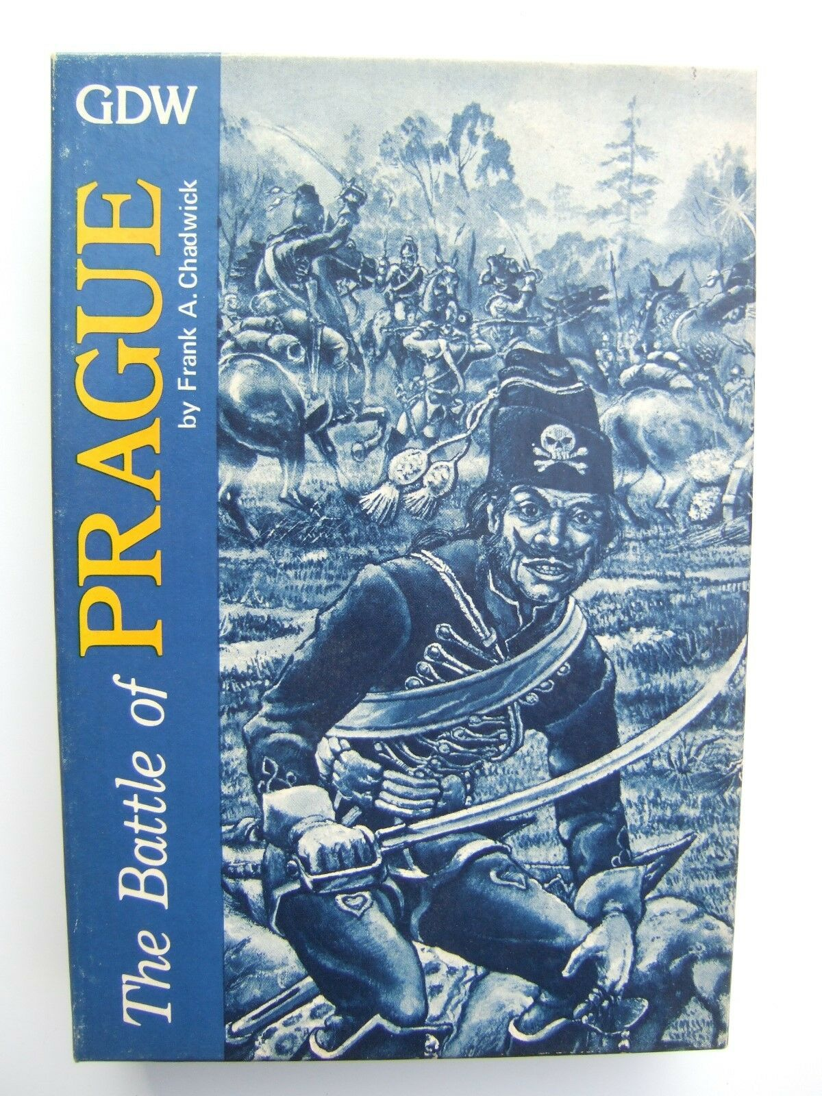 The Battle of Prague, Series 120 game by GDW - Unpunched