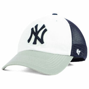 47eff9eedba New York Yankees MLB Privateer  47 Mesh Stretch-Fit Closer Baseball ...