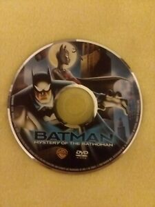 Batman-Mystery-of-the-Batwoman-DVD-2003-Animated-Series-Original-Movie-Disc-Only