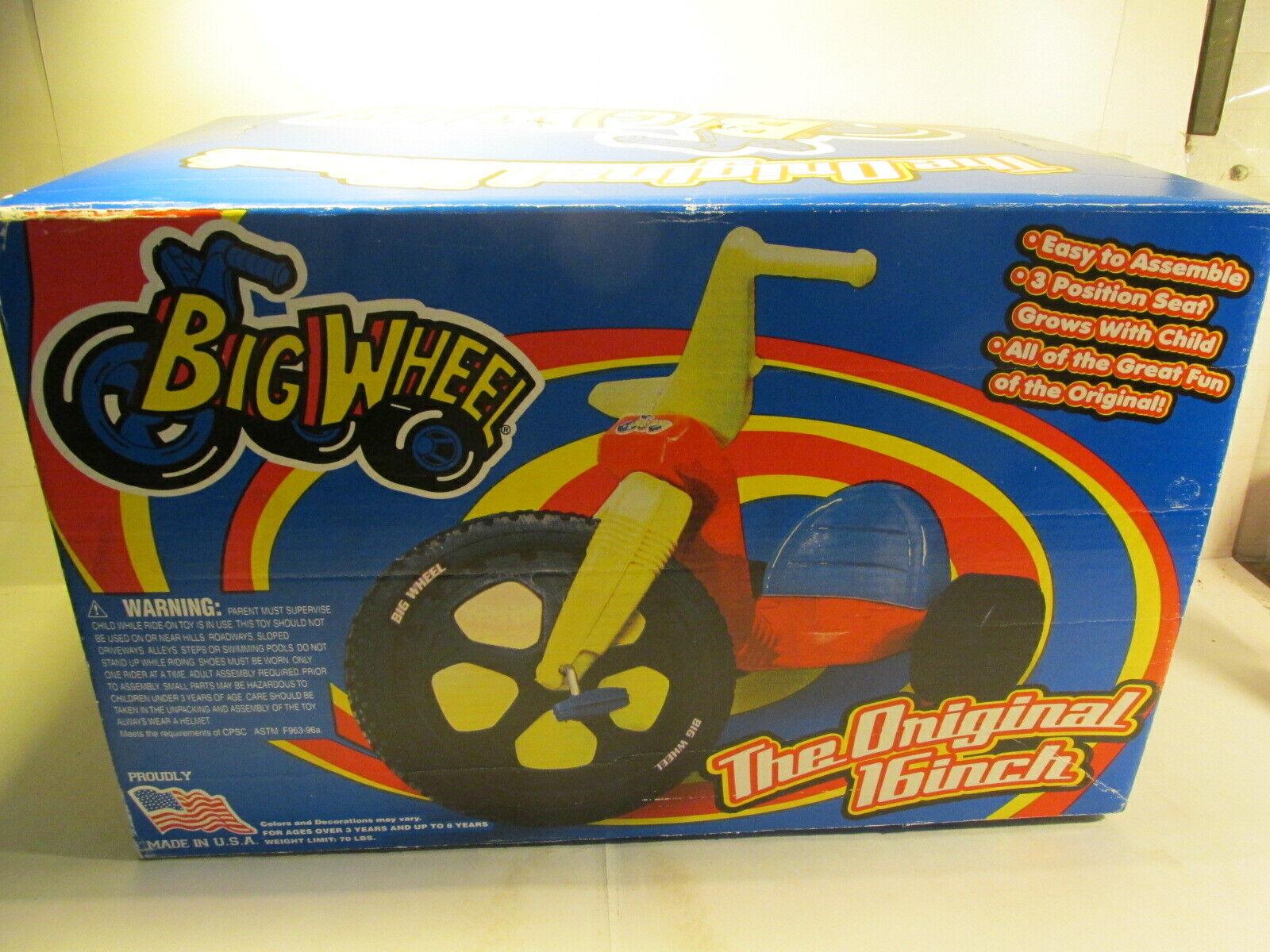 Impero Giocattoli The Original 40.6cm Big Ruota 3 Ruote Triciclo t3826