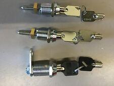 RS 800 VENDING MACHINE LOCK SET TOP DOOR LOCK, BOTTOM DOOR LOCK, CASH DRAW LOCK