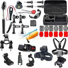 34in1 Head Chest Outdoor Monopod Accessories Kit For GoPro Hero 2 3 4 5 Camera