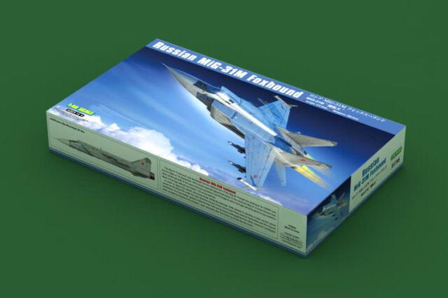 Hobbyboss 81755 1/48 Russian MiG-31M Foxhound