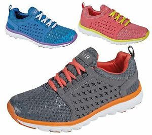 LADIES WOMENS GIRLS SPORTS GYM JOGGING RUNNING CASUAL TRAINERS TRAINER SHOES