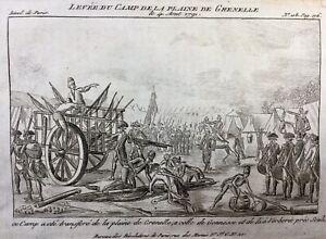 Camp-de-la-Plaine-de-Grenelle-1791-Gonesse-Verberie-Revolution-Francaise-Paris