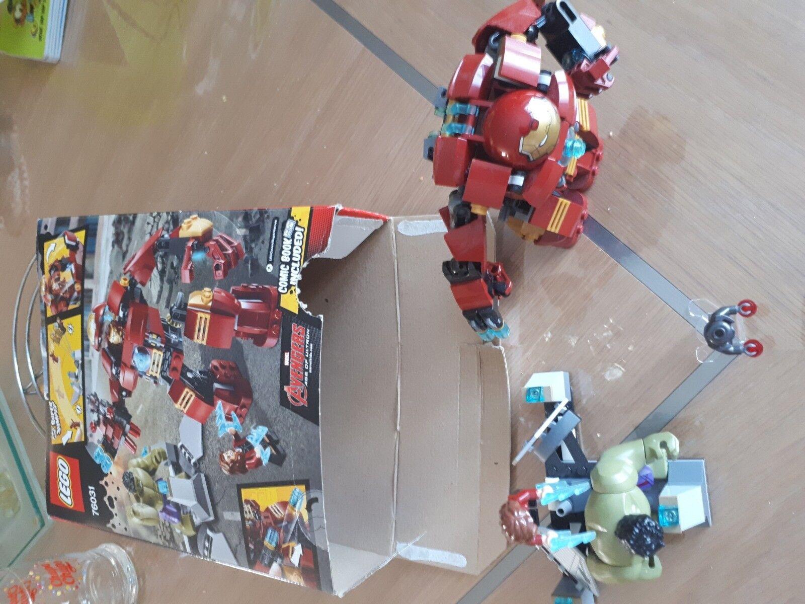 Lego marvel avengers 76031 super heroes tje hulk buster smash