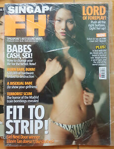 FHM-SINGAPORE-76-February-2005-Eileen-Tan-COVER
