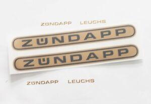 Zündapp Aufkleber Super Combinette Gold//schwarz Tank