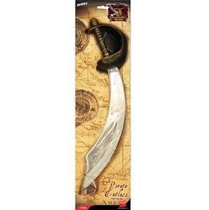 Actif Déguisement Pirate Coutelas & Cache Jouet Sword 50cm Jack Nouveau Par Smiffys Apparence Attractive