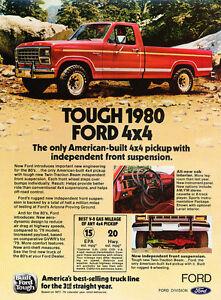 1980 ford f 150 ranger 4x4 classic truck advertisement ad j106 ebay rh ebay com 1980 ford truck side step 1980 ford truck dash