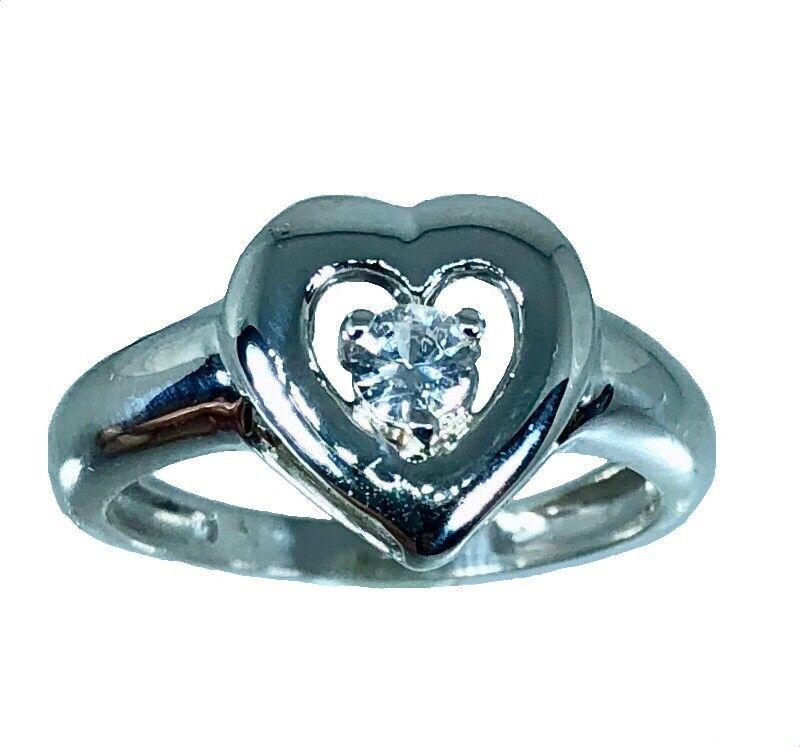 14k Engagement Diamond  Ring, White, Yellow, pink G, Free Sizing, US