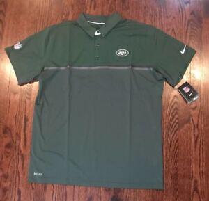 a1f65683 NWT$80 Men's NFL NY Jets Nike On Field Proformance Polo SS Shirt ...