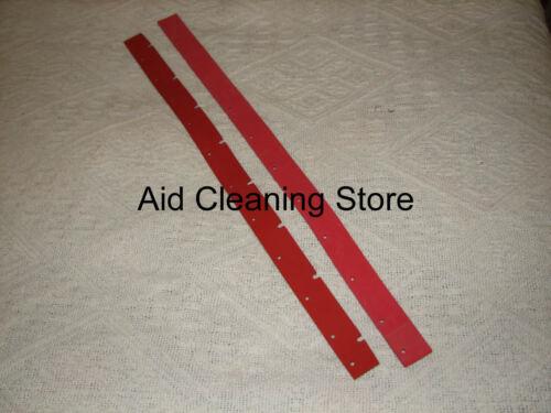 Genuine Numatic Red Polyurethane Blades TT TTB TT3450 TTB3450 Scrubber Dryers