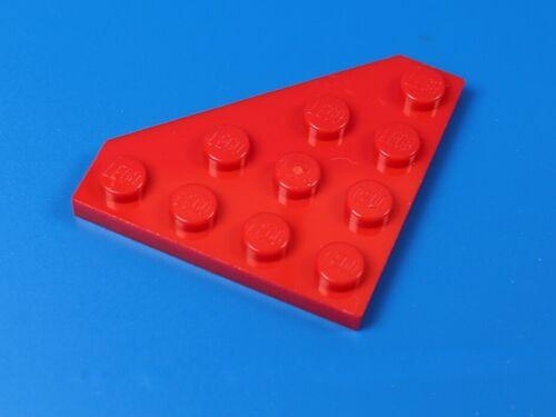 LEGO 4x4 Schräg Platte rot 8 Stück