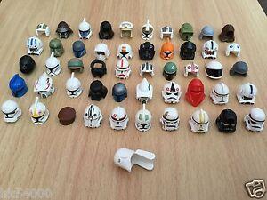 LEGO-Star-Wars-Casques-Helmet-pour-personnages-minifigs-figuren-headgear