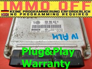 Details about IMMO OFF / Plug&Play VW AUDI ECU 0281001979 - 038906012M -  FAST COURIER