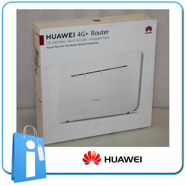 Routeur Modem 4G Huawei B535-232 Wifi LTE 300Mbps 4G+AC1200 4 X Gigabit
