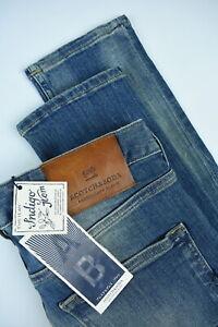 UVP-99-Scotch-amp-Soda-Skim-Herren-W32-L32-Blau-Skinny-Leg-Jeans-Stretch-6076-MM