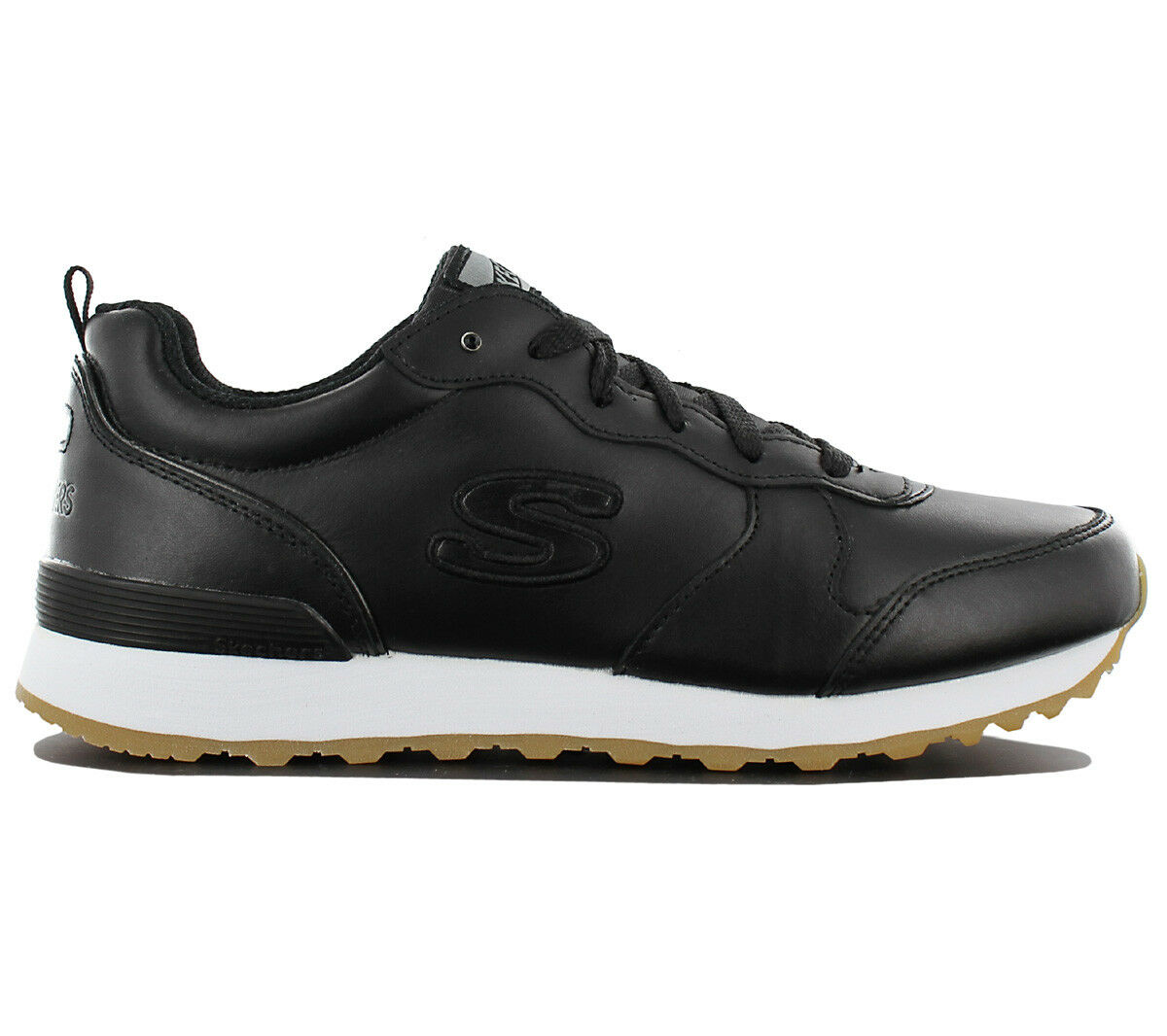 Skechers Og 85 Street Sneaker Low Zapatos Mujer Piel Negro Zapatillas de Deporte