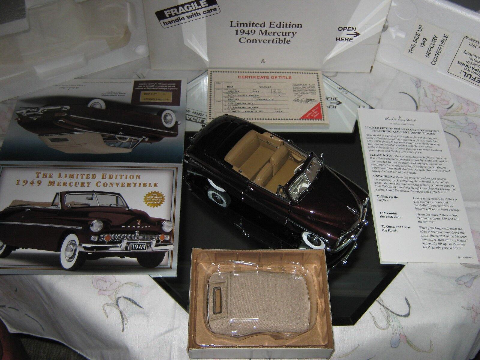 Von minze 1   24 1949 quecksilber cabrio limited edition   1556 von 5000