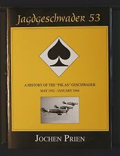 "Jagdgeschwader 53 History ""PIK AS"" Vol 2 1942-1944 Prien 1998 HBDJ Shiffer 1stEd"