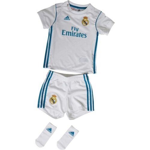 Real Madrid Baby Kit Adidas 2017-2018 Champions league Winners Official Adidas