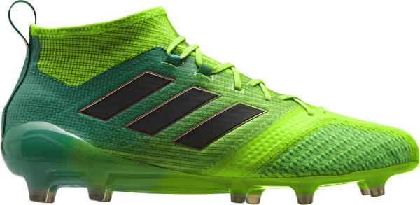 Adidas Ace 17.1 Primeknit Terra Ferma Da Uomo Scarpe Da Calcio-verde Paghi Uno Prendi Due