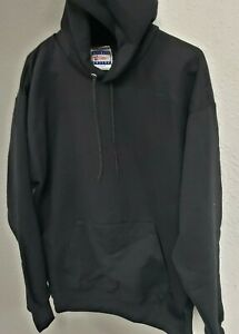 Hanes-Men-039-s-Pullover-Ultimate-Heavyweight-Fleece-Hoodie-Black-Medium