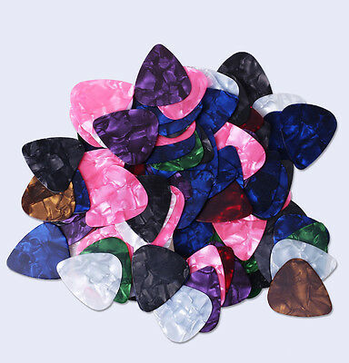 15pcs Multicolor Celluloid Acoustic Electric Guitar Picks Thin 0.46mm HOT SALE
